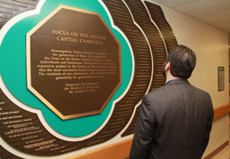 Community Celebrates MVH Capital Campaign's $2.7 M Success With Plaque Unveiling and Tours photo
