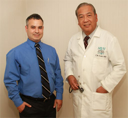 Dr. Hiram A. Gonzalez and Dr. Chito M. Crudo photo