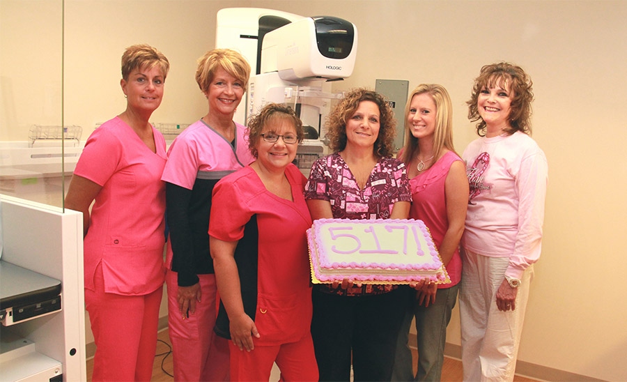 HealthPlex Imaging Helps to Knock Out Breast Cancer photo