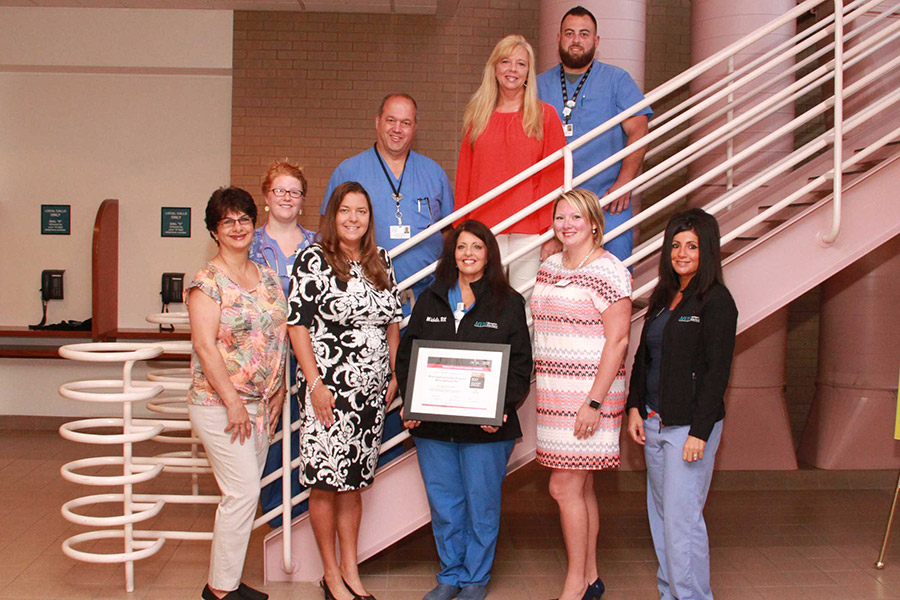 Monongahela Valley Hospital honored with Mission: Lifeline achievement award photo