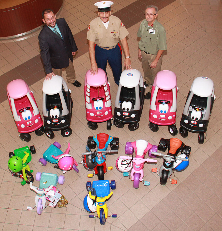 Monongahela Valley Hospital kicks off the Toys for Tots Campaign in the Mon Valley photo