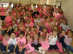 Pink Out held at Madonna Catholic Regional School photo