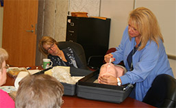 Monongahela Valley Hospital Nurse Conducts Narcan Training for Charleroi High School Staff photo