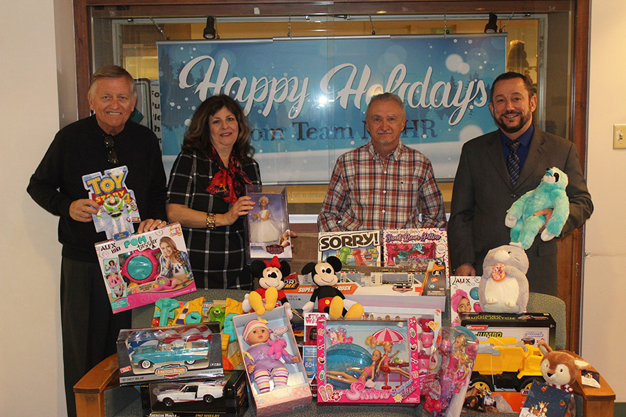Monongahela Valley Hospital Receives Toy Donation From Local Groups photo