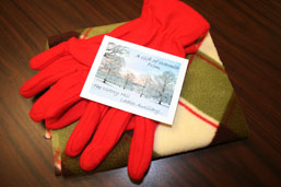 Gift of Warmth Given to Monongahela Valley Hospital's Cancer Patients photo