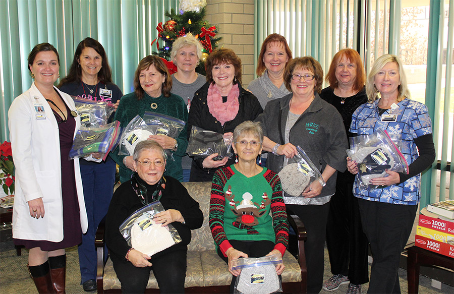 Victory Hill Ladies Auxiliary Support MVH Cancer Center photo