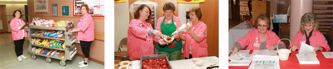 Volunteers at The Auxiliary of Mon-Vale Health Resources, Inc.